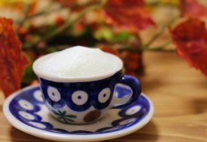 豆乳のパンプキンラテ